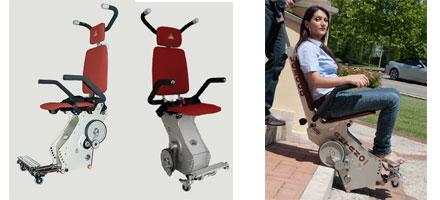 Montascale mobile per disabili e anziani riconducibile per for Montascale per disabili verona