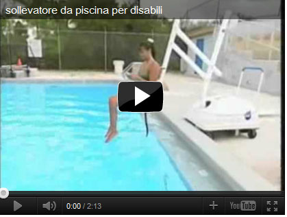 Sollevatore mobile per piscina per disabili pal elettrico - Sollevatore piscina per disabili ...